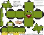 Muppets 1: Kermit Cubee