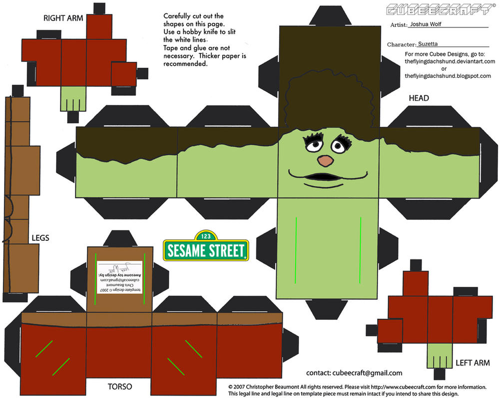 Muppets 11: Suzetta Cubee by TheFlyingDachshund