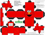 Muppets 14: Elmo Cubee