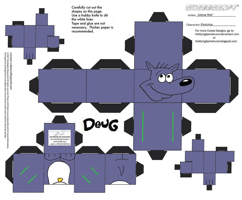 Doug: Porkchop Cubee by TheFlyingDachshund