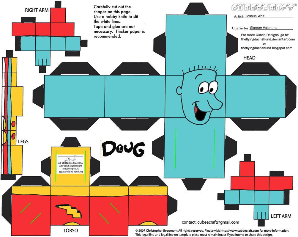 Doug: Skeeter Valentine Cubee by TheFlyingDachshund