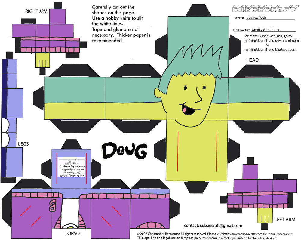 Doug: Chalky Studebaker Cubee by TheFlyingDachshund