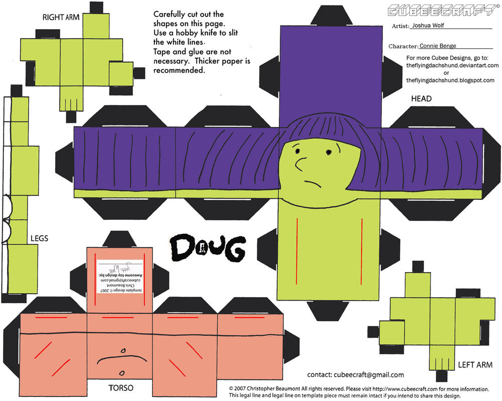 Doug: Connie Benge Cubee by TheFlyingDachshund