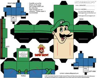 VG 3: Luigi Cubee by TheFlyingDachshund