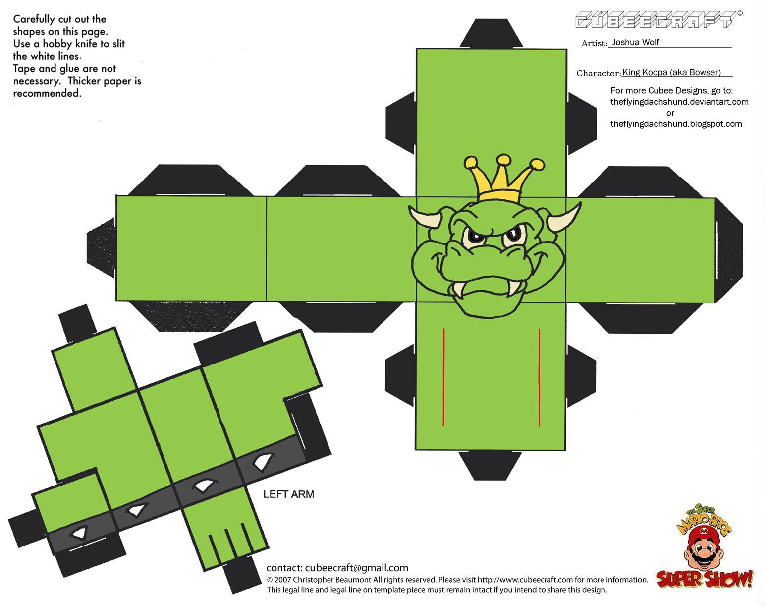 VG 4: King Koopa Cubee by TheFlyingDachshund on DeviantArt - photo#20