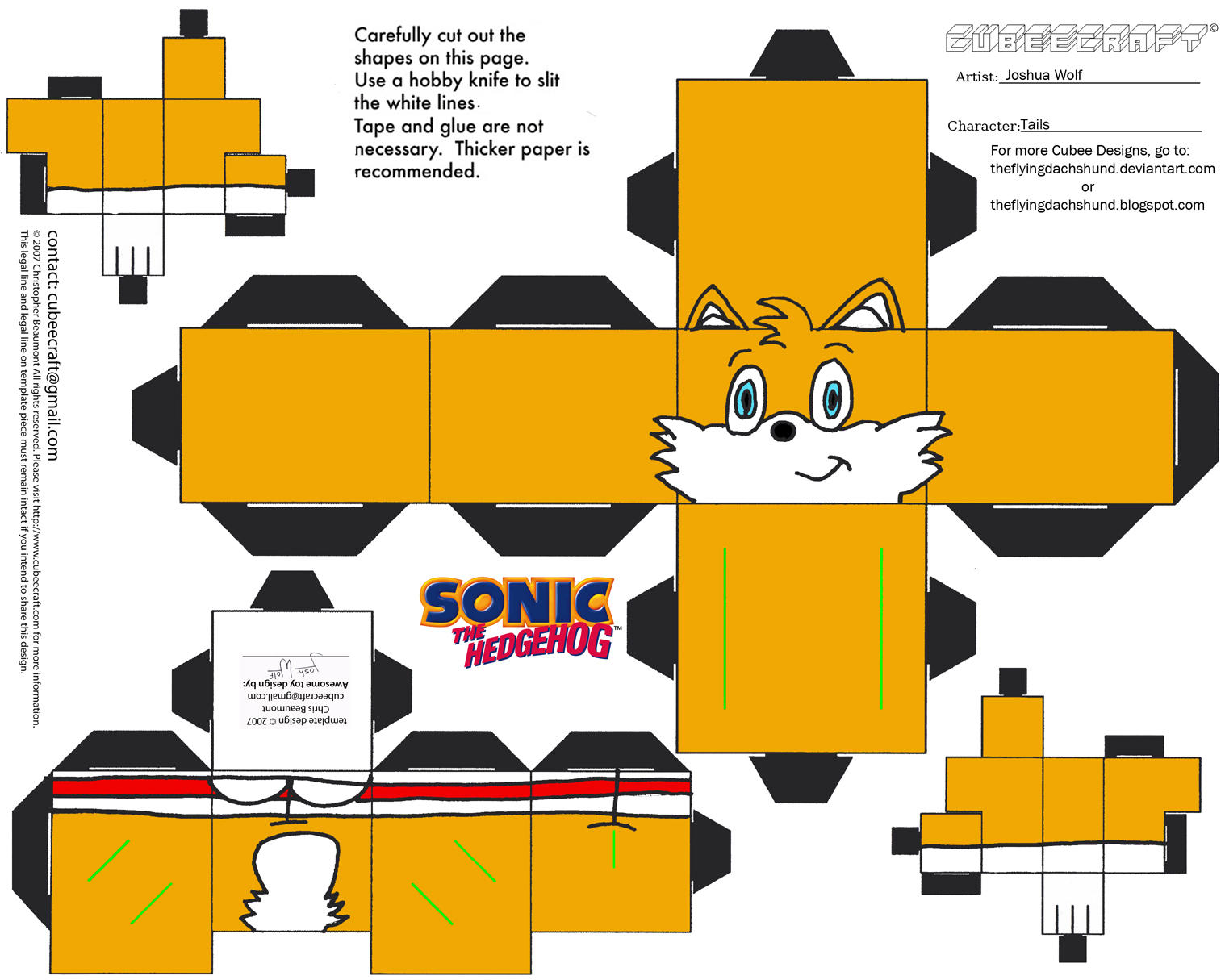 Image Result For Tails Doll Coloring
