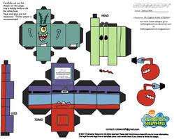 SS: Mr Krabs N Plankton Cubee by TheFlyingDachshund