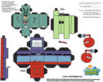 SS: Mr Krabs N Plankton Cubee