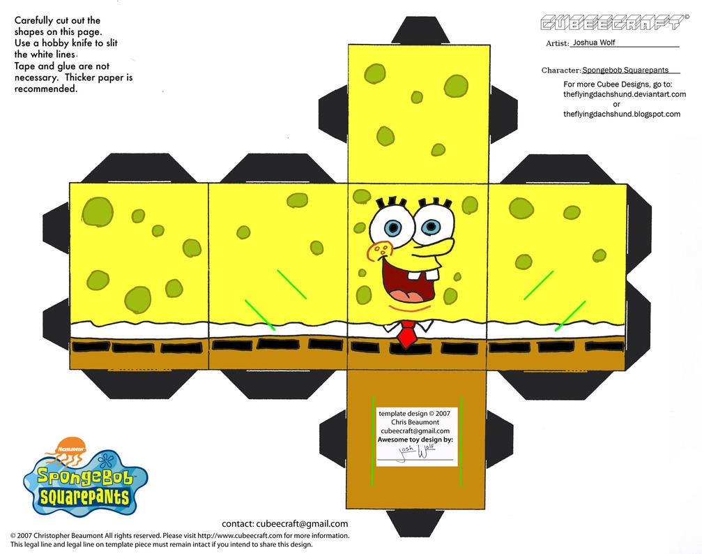 SS: Spongebob Squarepants Cubee by TheFlyingDachshund