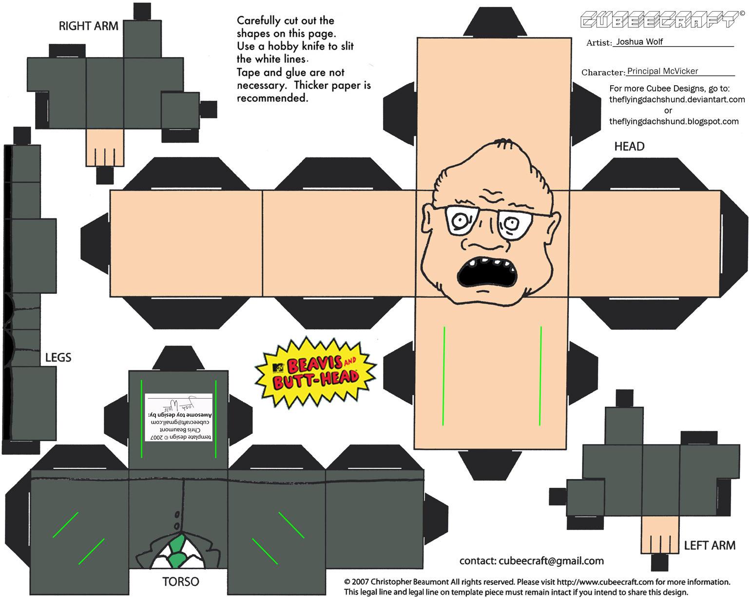 MJC 4: Principal McVicker Cubee by TheFlyingDachshund