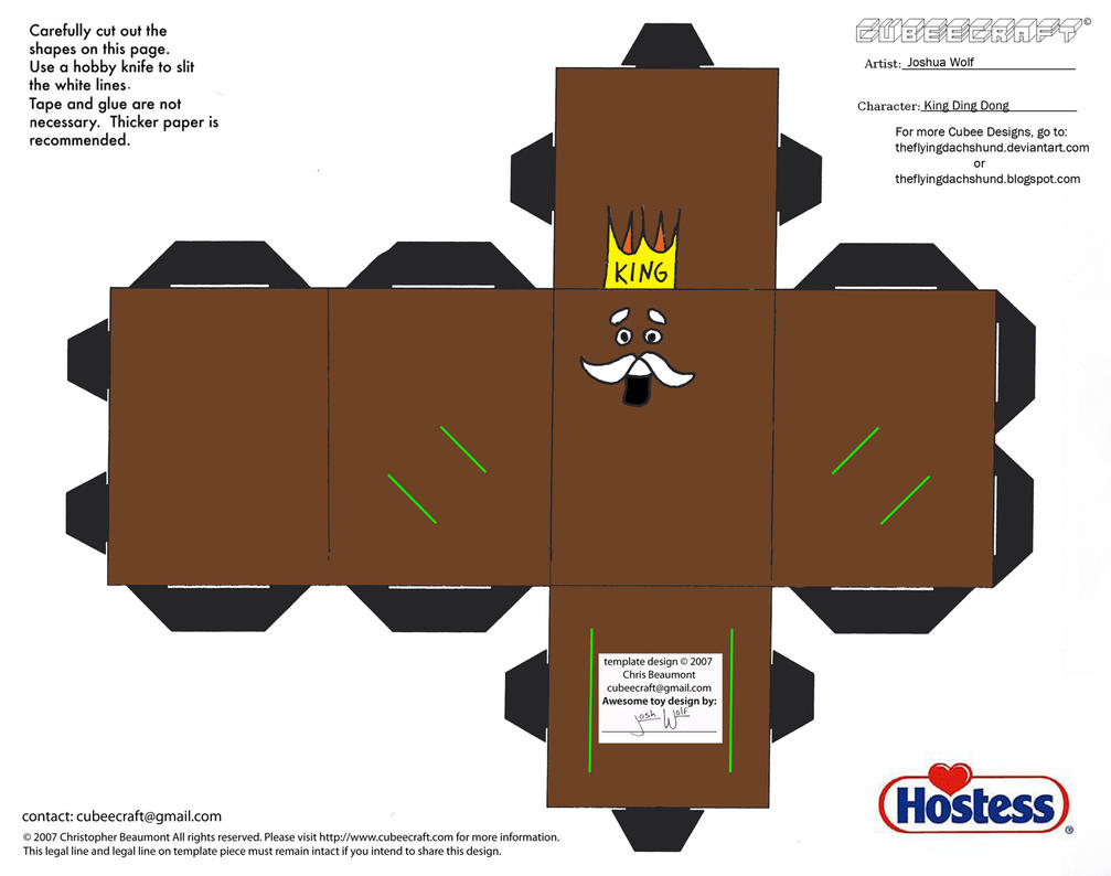 Hostess King Dong Cake Recipe