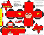JLA 2: Barry Allen Flash Cubee