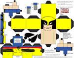 Marvel3: Wolverine Cubee