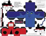 Marvel4: Nightcrawler Cubee