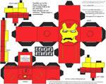 Marvel4: Iron Man Cubee