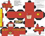 DC SH16: New Wally Flash Cubee
