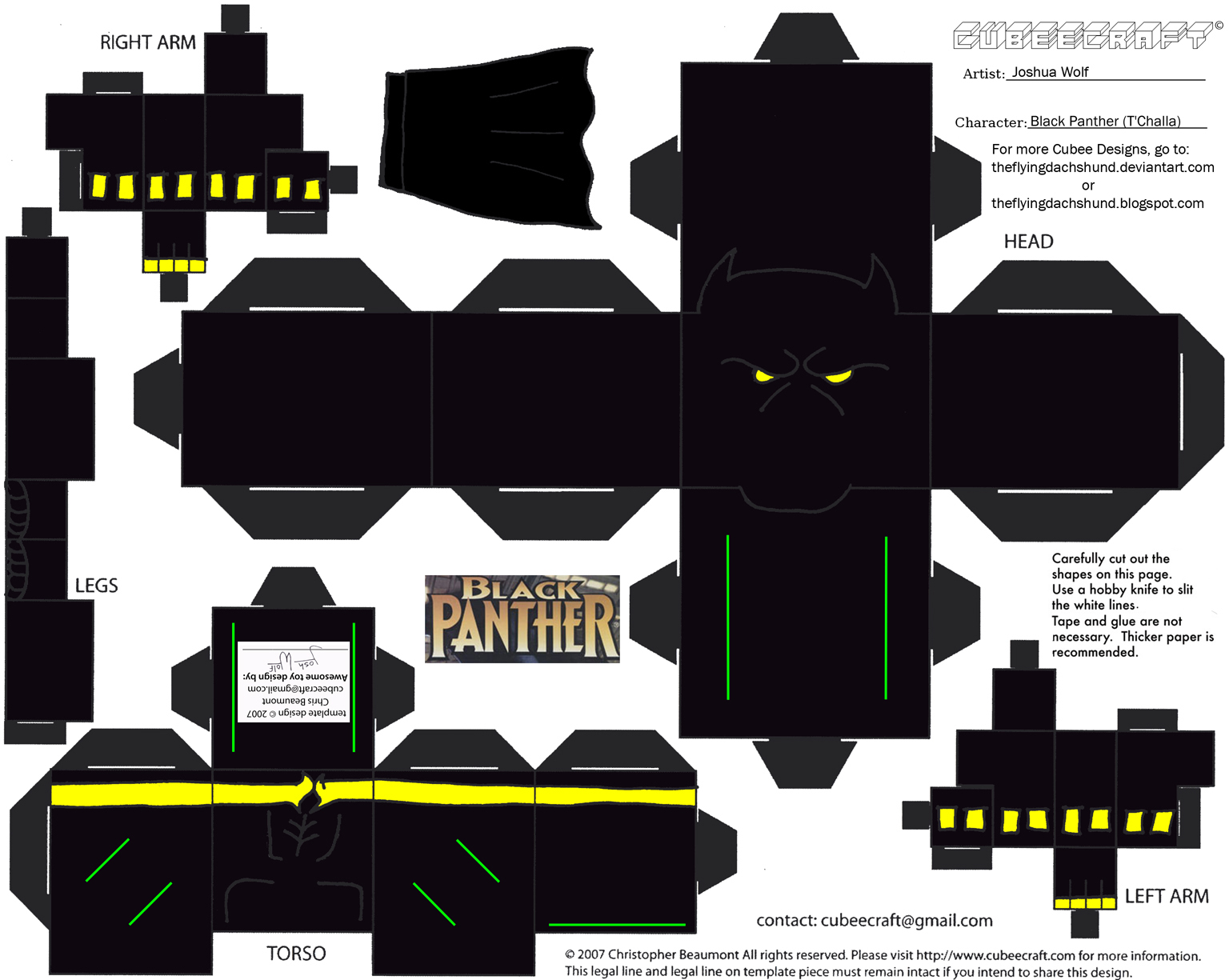 Marvel8: Black Panther Cubee