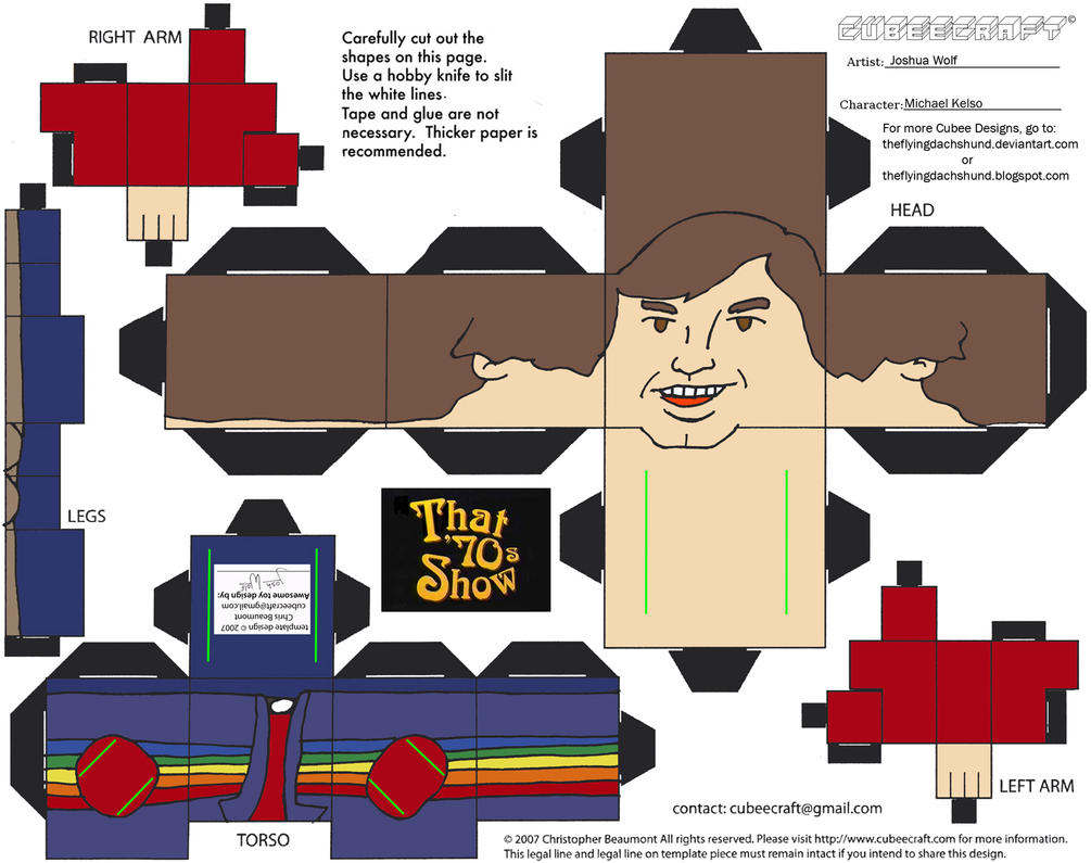 70s Show 2: Michael Kelso Cubee by TheFlyingDachshund