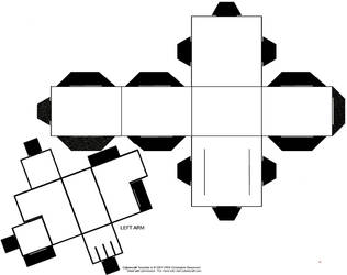 Large Cubee Templates by TheFlyingDachshund
