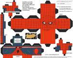 Retro3: Spider-Man Cubee