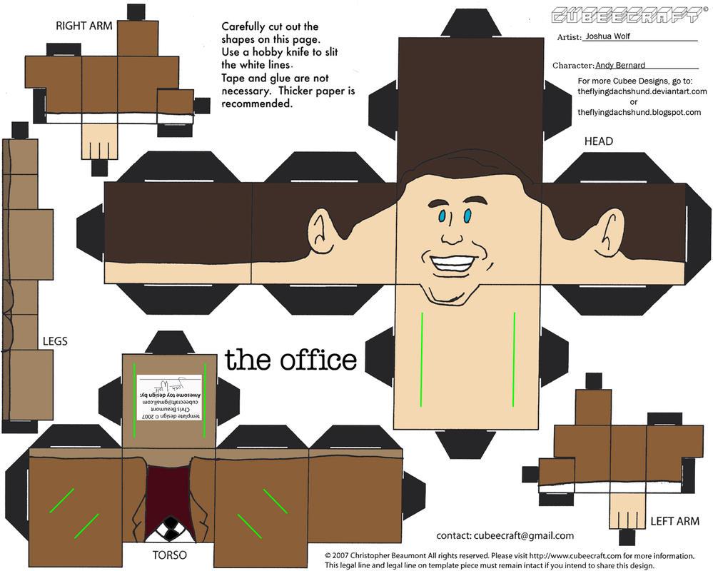 Office: Andy Bernard Cubee By TheFlyingDachshund On DeviantArt
