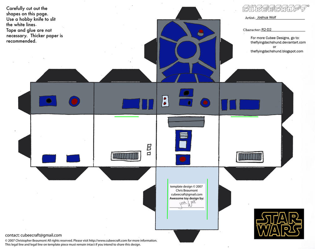 sw3 r2 d2 cubee by theflyingdachshund on deviantart. Black Bedroom Furniture Sets. Home Design Ideas