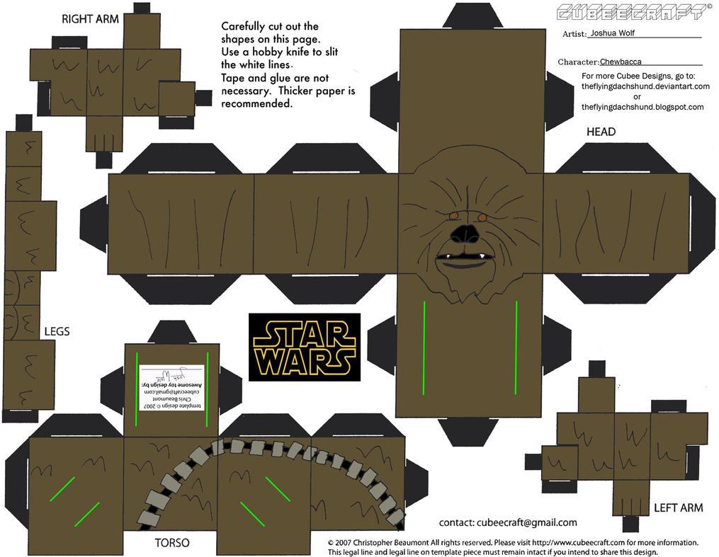 Chewbacca Cartoon Sw5: chewbacca cubee by