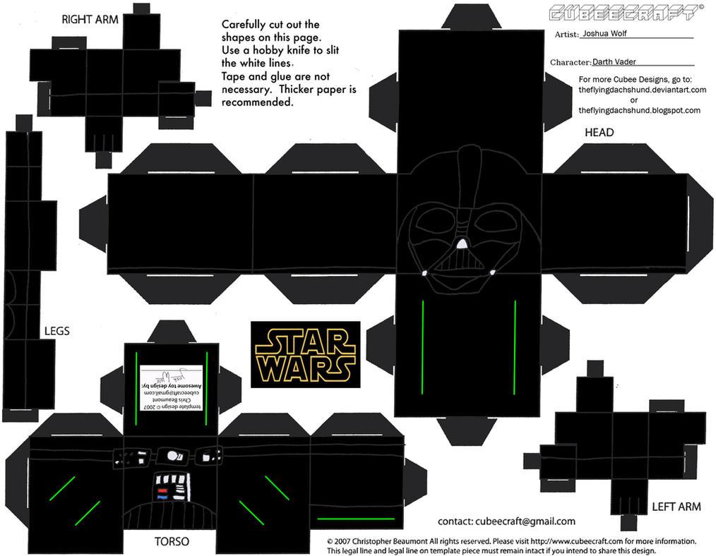 SW6: Darth Vader Cubee by TheFlyingDachshund
