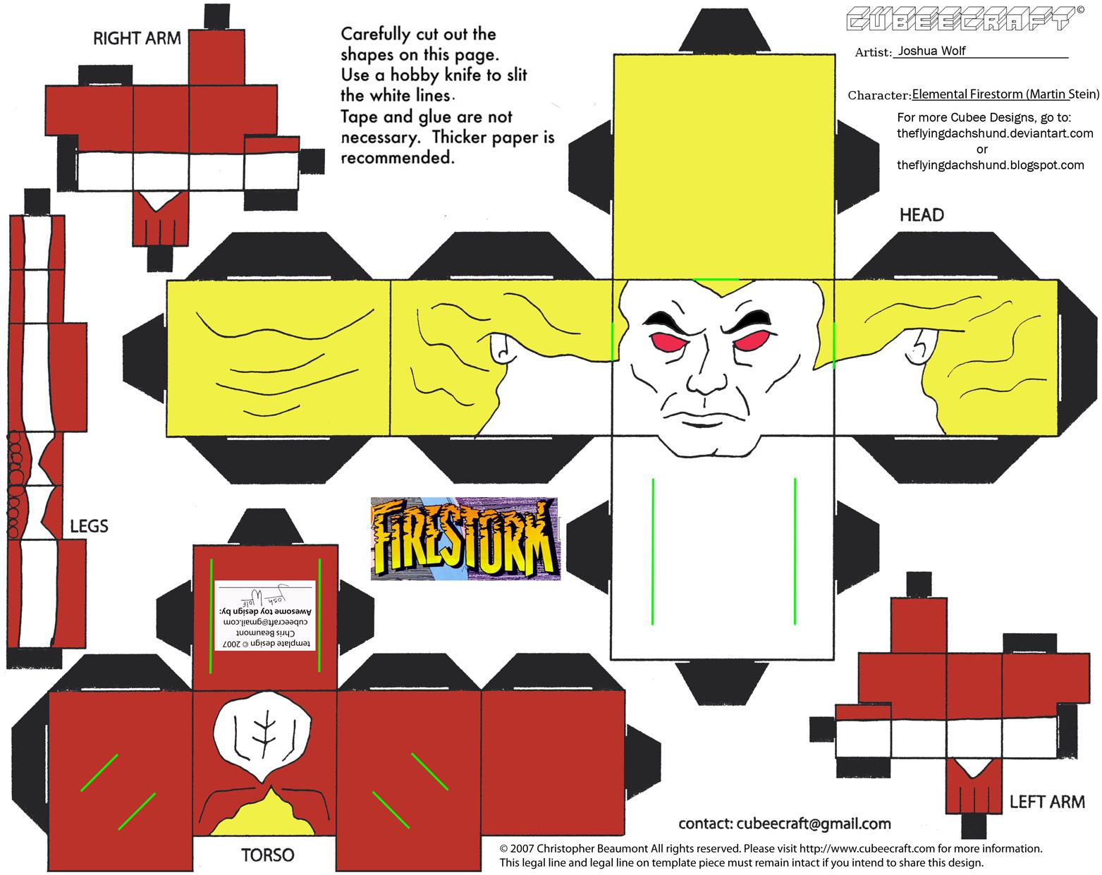 DC SH36: Elemental Firestorm Cubee