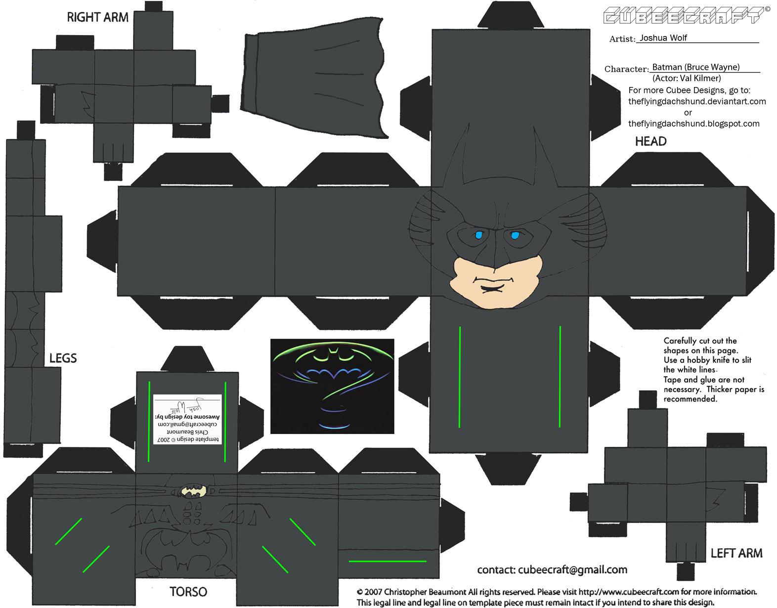 DCF2: Batman Cubee by TheFlyingDachshund