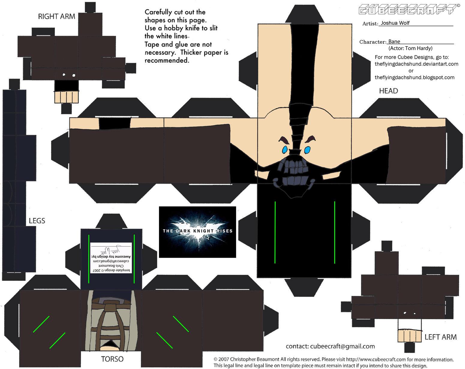 DCF6: Bane Cubee by TheFlyingDachshund