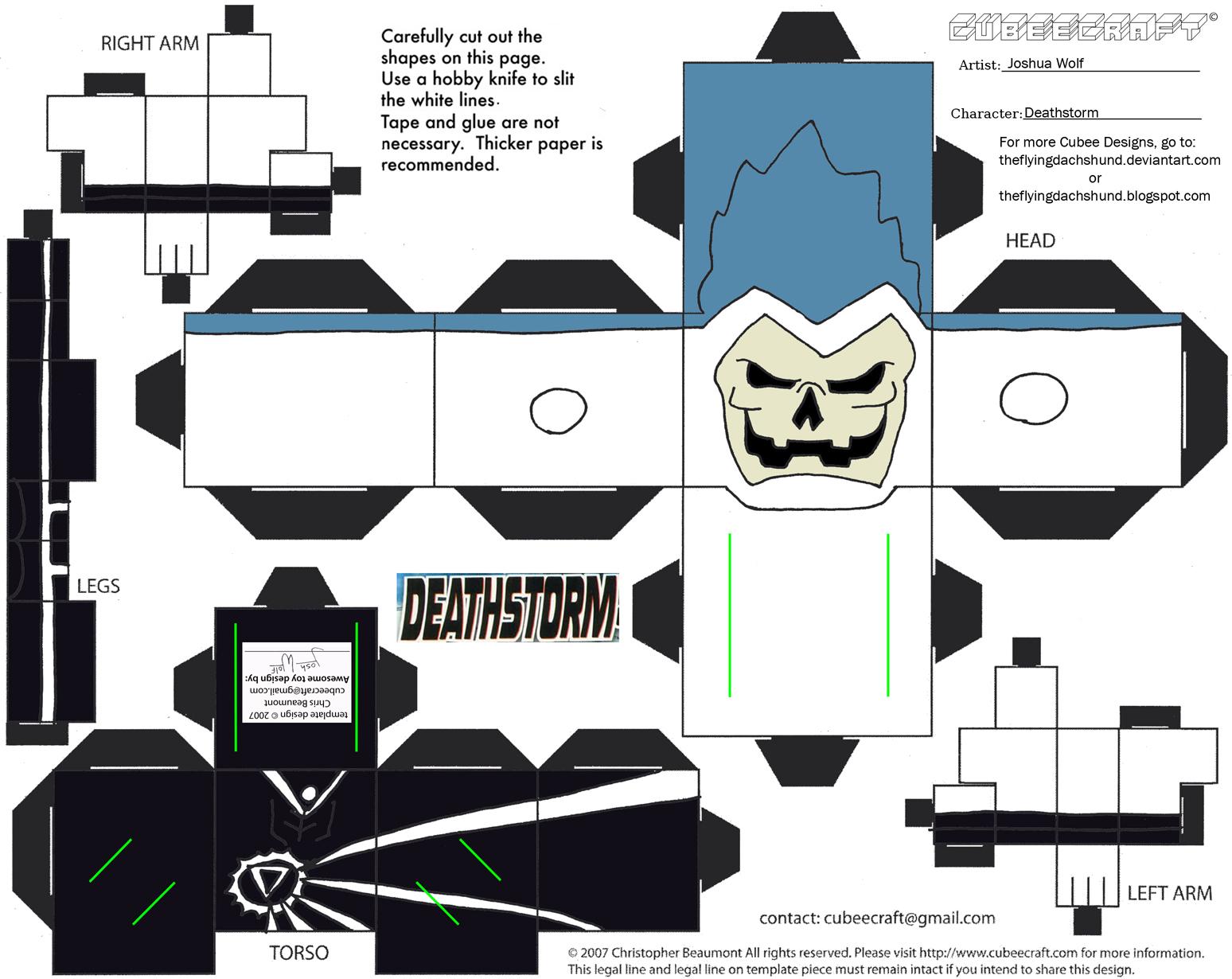 Vil19: Deathstorm Cubee