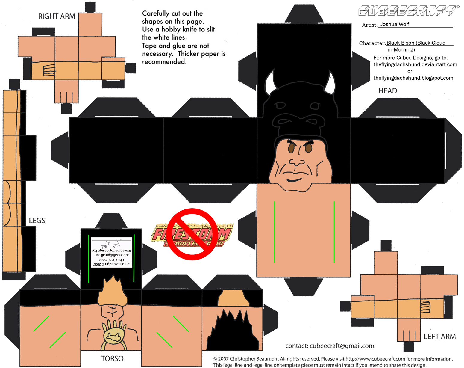 Vil21: Black Bison Cubee