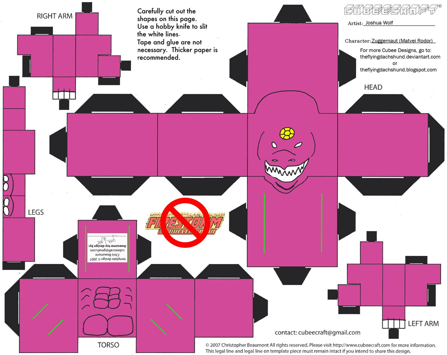 Vil21: Zuggernaut Cubee