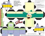 Simpsons2: Krusty the Clown Cubee