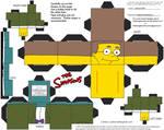 Simpsons3: Waylon Smithers Jr. Cubee