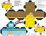 Simpsons3: Nelson Muntz Cubee