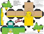 Simpsons5: Edna Krabappel Cubee