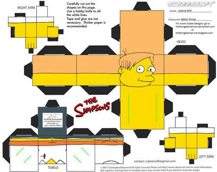 Simpsons5: Martin Prince Cubee