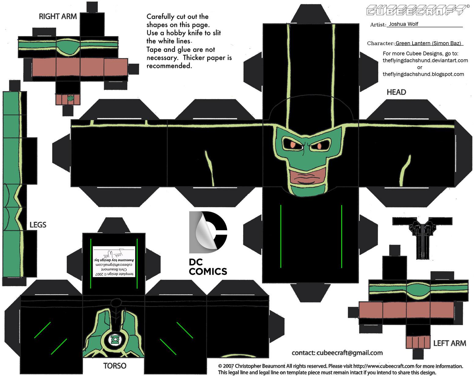 Image Result For Green Lantern Printable