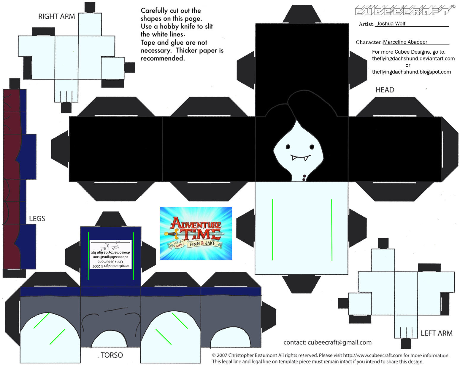 Images For > Cubeecraft Adventure Time Finn