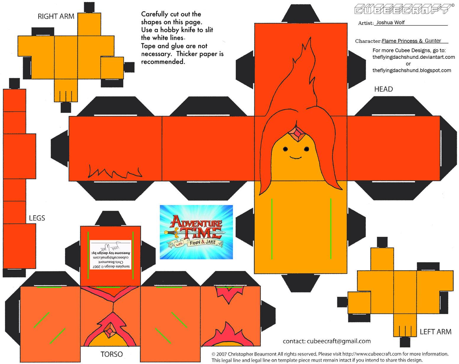 BMO Papercraft v.1 by AbsolutelyNoTalent on DeviantArt