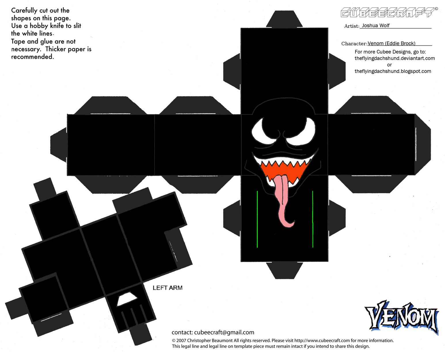 Marvel12 Venom Cubee By Theflyingdachshund On Deviantart