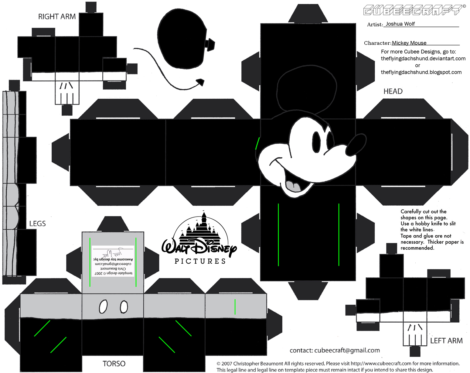 Image Result For Printable Mickey Mouse