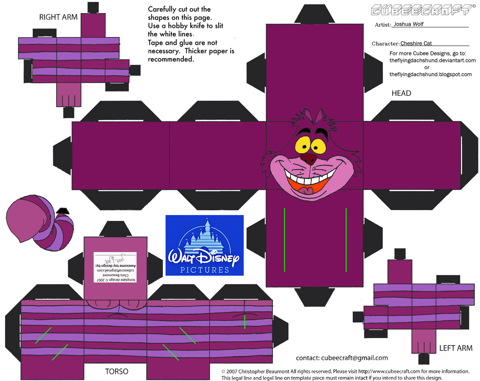 Dis19 Cheshire Cat Cubee By Theflyingdachshund On Deviantart
