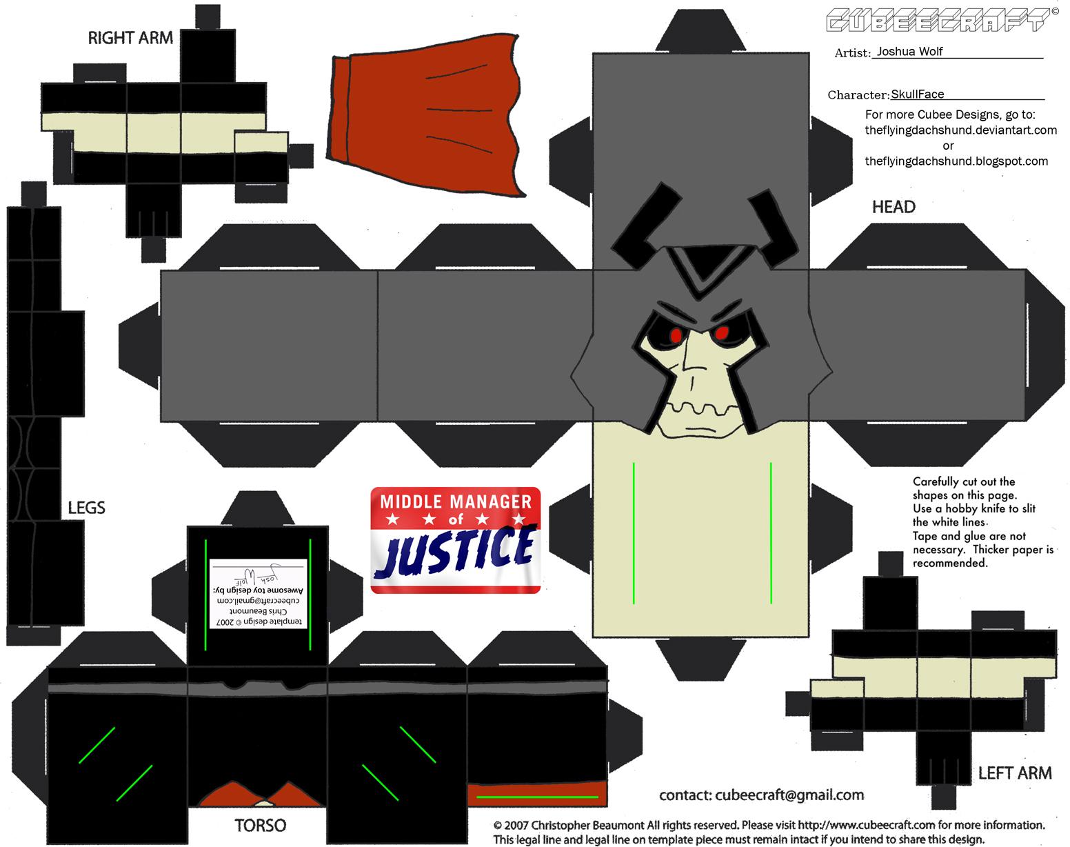 VG22: SkullFace Cubee by TheFlyingDachshund on DeviantArt