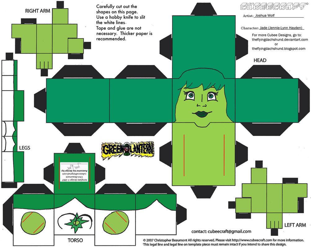 GL41: Jade Cubee by TheFlyingDachshund