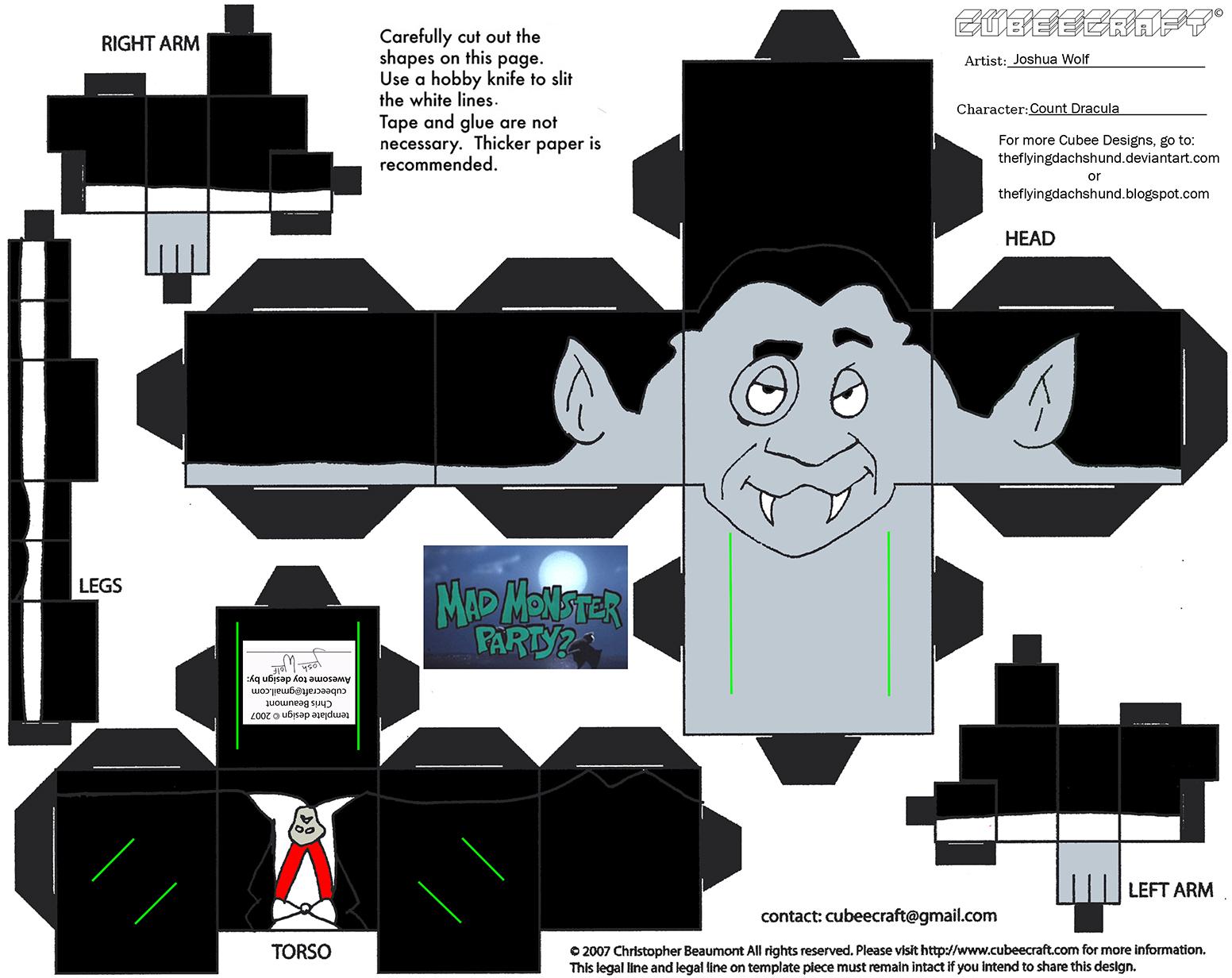 MMP2: Count Dracula Cubee
