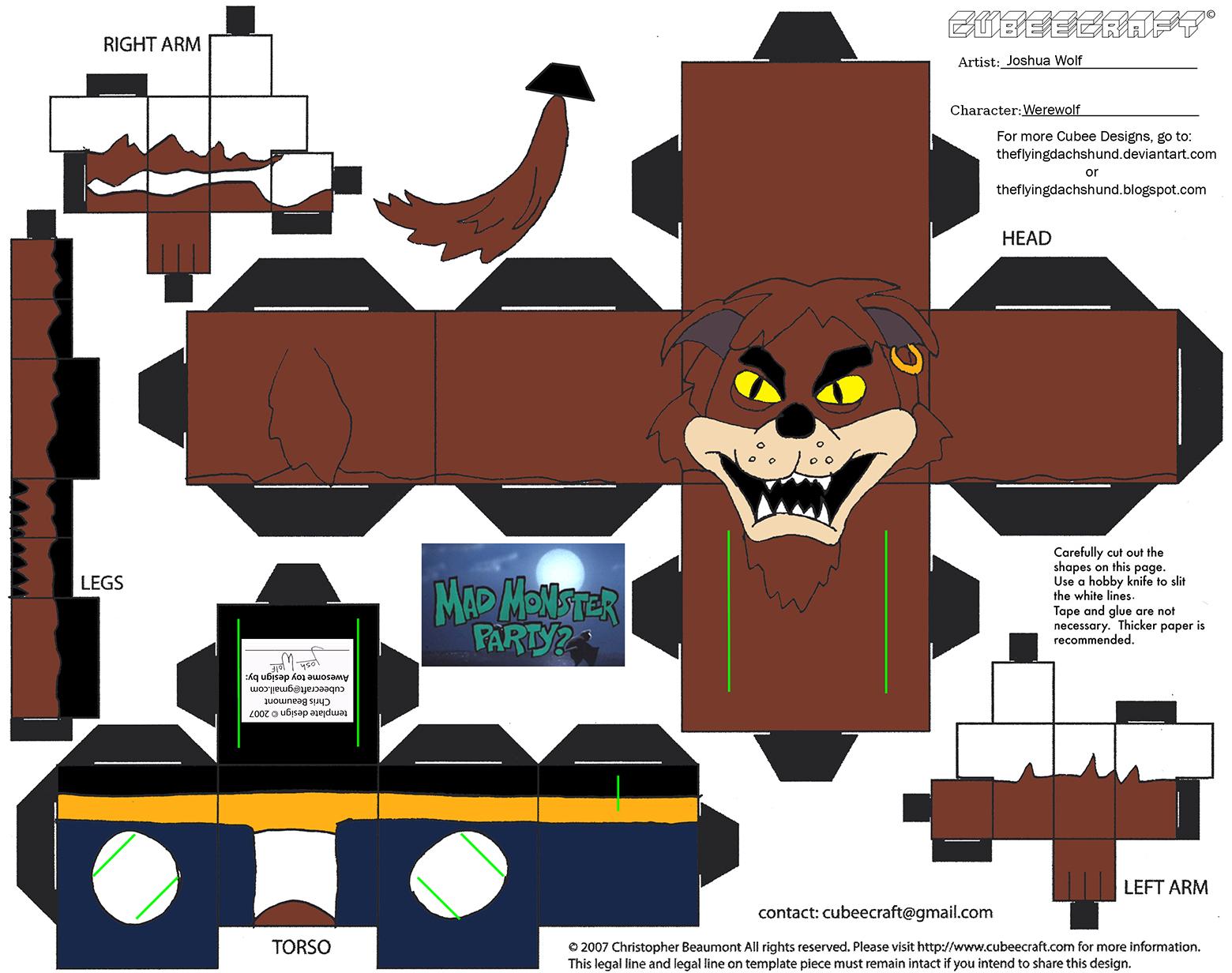 MMP2: Werewolf Cubee