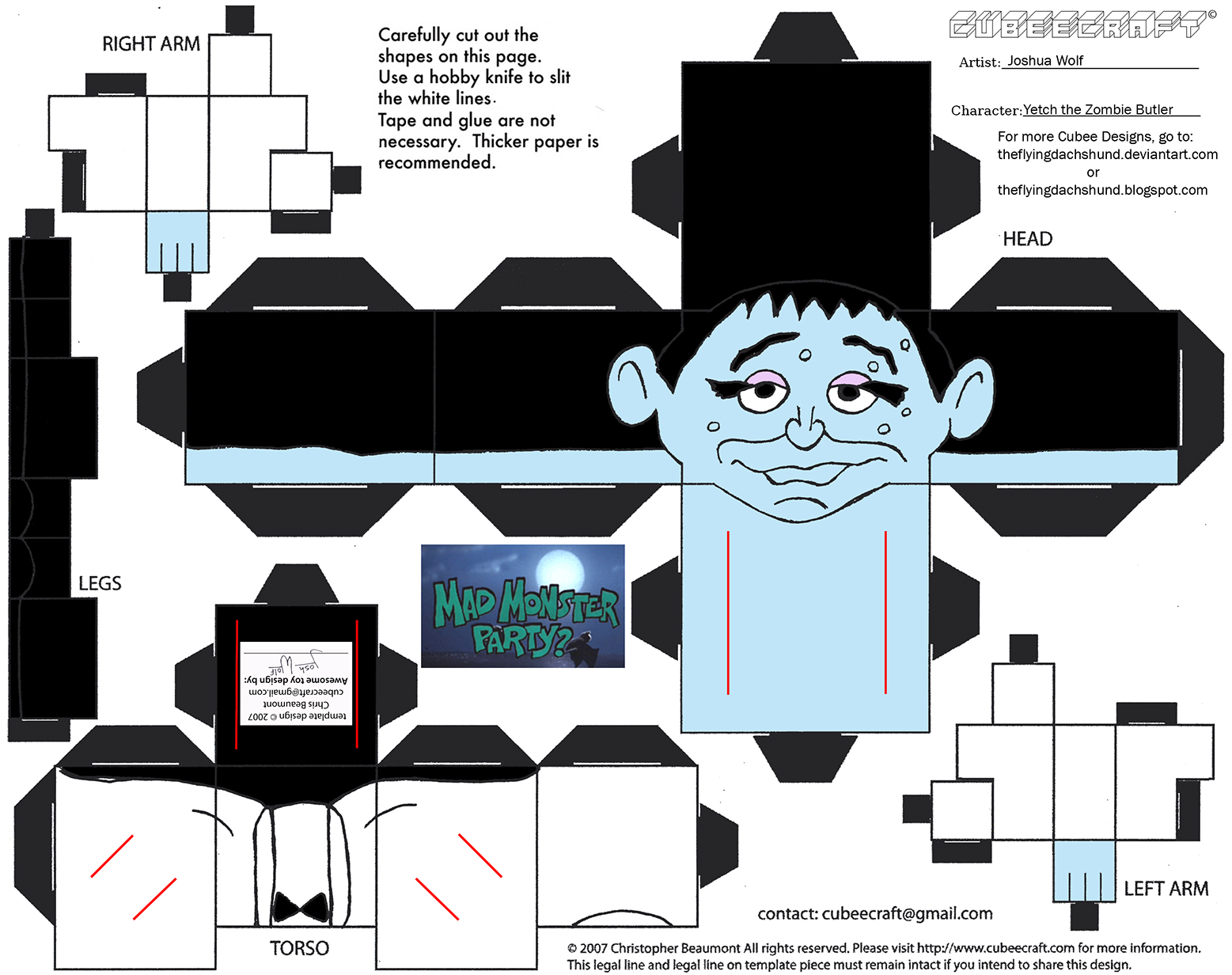 MMP2: Yetch the Zombie Butler Cubee